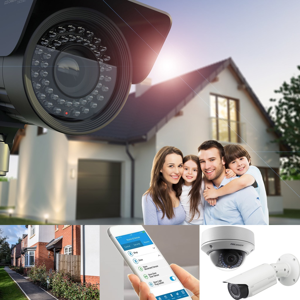 CCTV camera installation - to suit any property size or budget.